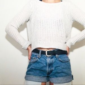 ✭American eagle cropped sweater ✭